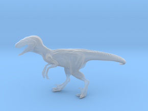 Jurassic Park Raptor v4 1/35 scale in Smooth Fine Detail Plastic