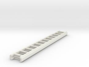 1/87 Ground Ladder #4 in White Natural Versatile Plastic