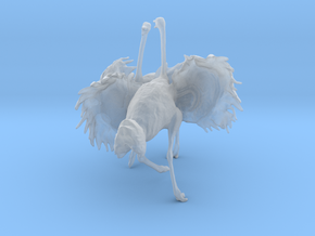 Ostrich 1:35 Fighting Pair in Smooth Fine Detail Plastic