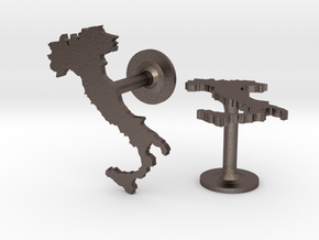 Italy Cufflinks in Stainless Steel