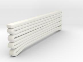 1/87 Seagrave Hose Load 1 in White Natural Versatile Plastic