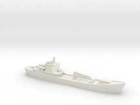 Alligator-class landing ship, 1/1800 in White Natural Versatile Plastic