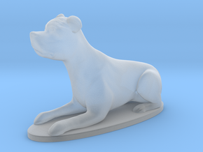 Amstaff miniature (sitting) in Frosted Extreme Detail