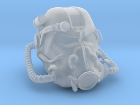 T60 Helmet (1:12 Scale) in Smooth Fine Detail Plastic