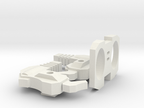 """Another Dimensional bots """"KWAGGA"""" (parts set B) in White Strong & Flexible"""
