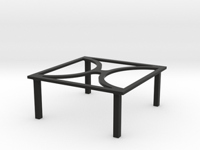 Laptop Stand in Black Strong & Flexible: 1:8