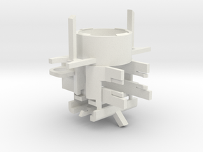 Thermal Detonator Chassis in White Natural Versatile Plastic