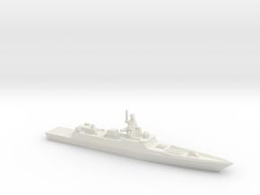 Admiral Gorshkov-class frigate, 1/1250 in White Natural Versatile Plastic
