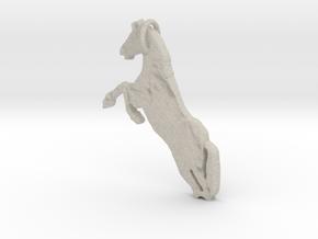 Horse in Natural Sandstone