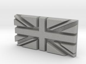 British flag in Aluminum