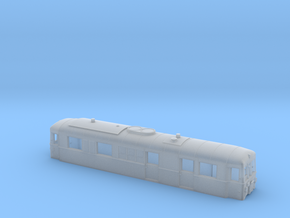 Schmalspurtriebwagen T3 der HSB (1:160) in Smooth Fine Detail Plastic