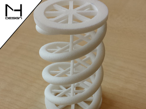 DNA String in White Natural Versatile Plastic