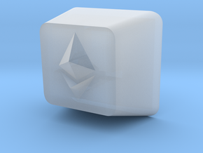 Ethereum Cherry MX Keycap in Smooth Fine Detail Plastic
