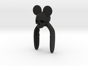 MICKEY SKULL KEYFOB FOR MINI COOPER F MODEL in Black Strong & Flexible