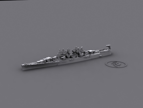 US Cleveland-class Light Cruisers (7 ships) in Smooth Fine Detail Plastic: 1:3000