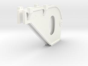 1.8 SUPPORTS TUYERES EC725 X2 in White Processed Versatile Plastic