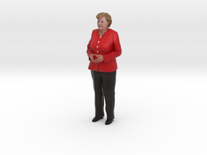 Angela Merkel 3D Model ready for 3d print in Full Color Sandstone