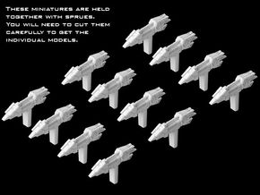 12x Action VI Transport (1/7000) in Smooth Fine Detail Plastic