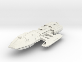 BSG  Nova Class  HvyBattleStar in White Strong & Flexible