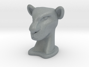 Lioness in Polished Metallic Plastic