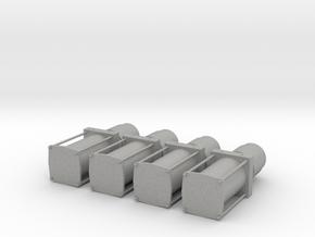 4 Pumps 1/24 1/25 lowrider  in Aluminum