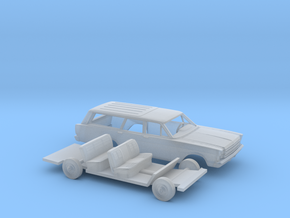 1/160 1966 Ford Country Wagon Kit in Frosted Extreme Detail