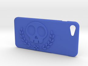IPhone 7S Skull Case vol 2 in Blue Strong & Flexible Polished