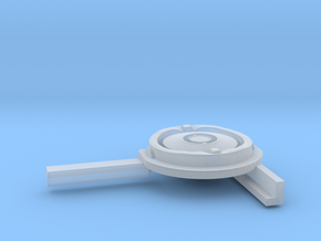 1/35 Uboot Left Compass With Support in Smooth Fine Detail Plastic