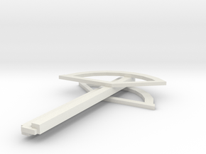 Passenger Shed in White Natural Versatile Plastic