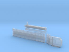 G 003-2 Tieflader ähnlich Goldhofer 6 achs Lang v2 in Smooth Fine Detail Plastic