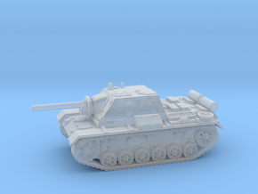 SU - 76i tank (Russian) 1/144 in Smooth Fine Detail Plastic