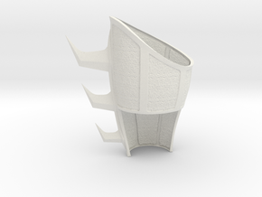 Batman Begins- League of Shadows L gauntlet Pt. 1 in White Natural Versatile Plastic
