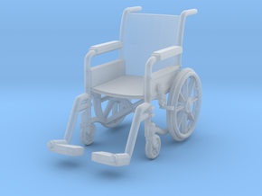 Wheelchair 01. 1:32 Scale in Smooth Fine Detail Plastic