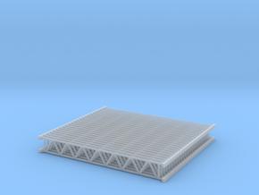 Lattice girder 01. HO Scale (1:87) in Smooth Fine Detail Plastic