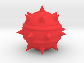 High-Poly Stickybomb in Red Strong & Flexible Polished
