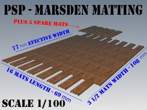 1-100 Marsden Matting Section in Frosted Ultra Detail