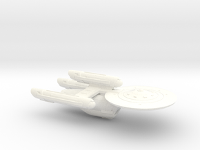 Terran Diligent Dreadnought - 1:7000 in White Strong & Flexible Polished