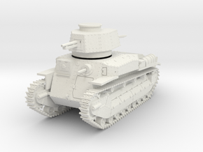 PV24A Type 89B Medium Tank (28mm) in White Natural Versatile Plastic