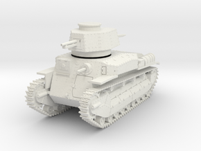 PV24F Type 89B without tail skid (28mm) in White Natural Versatile Plastic