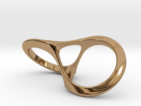 Fortuna's Ring in Polished Brass: 8 / 56.75