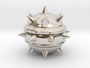 High-Poly Stickybomb (Hollow) in Platinum: Extra Small