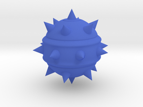 High-Poly Stickybomb (Solid) in Blue Strong & Flexible Polished: Medium