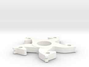 Horse Fidget Spinner in White Processed Versatile Plastic
