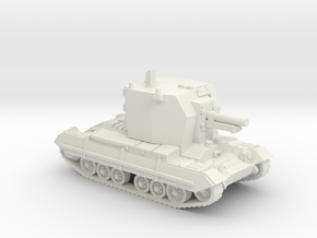 Bishop (artillery) (British) 1/87 in White Natural Versatile Plastic