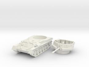 ZSU -37 tank (Russia) 1/100 in White Natural Versatile Plastic