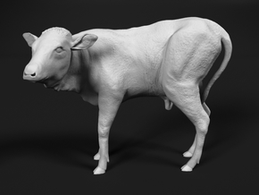Ankole-Watusi 1:35 Calf in Smooth Fine Detail Plastic