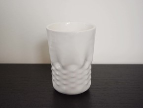Enceladan Mug in Gloss White Porcelain