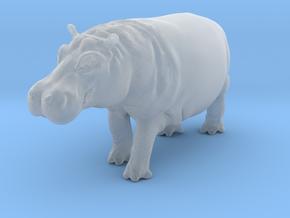 Hippopotamus 1:22 Walking Male in Smooth Fine Detail Plastic