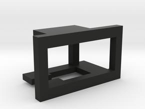 Nerf Voltmeter Holder in Black Natural Versatile Plastic