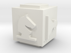 Cube Set-01 (repaired) in White Natural Versatile Plastic